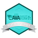 Ava Platinum Digital Award