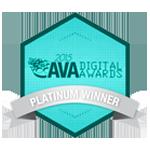 Ava Platinum Digital Award